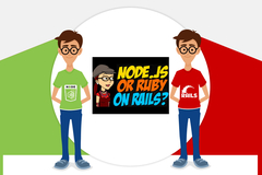 NODE.JS Vs RUBY ON RAILS Which is Better for Web Development?