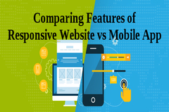 Comparing Features of Responsive Website vs Mobile App