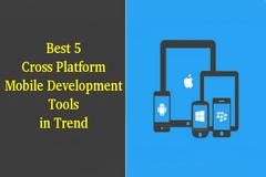 Best 5 Cross Platform Mobile Development Tools in Trend