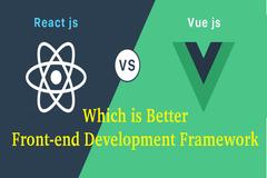 Vue vs ReactJS - Which is Better Front-end Development Framework