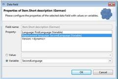 Substitute Language in PIM Export
