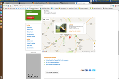 How to show location image and details inside google marker on map?
