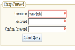Password Validation using HTML5