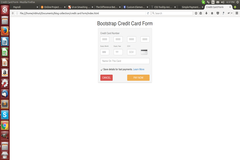 Creating Credit Card Form Using Bootstrap