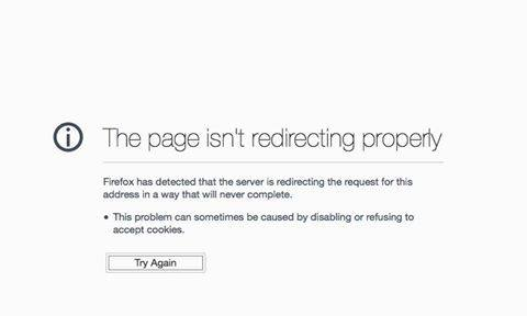 Page Isn\u0027t Redirecting Properly Error in Magento Application