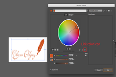 7 Easy Steps to Change Hue of a Multi-colored Vector