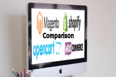 Magento vs Shopify vs WooCommerce vs OpenCart  E-Commerce Platform Comparison