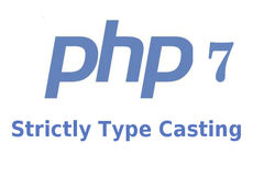 How to define Strictly Type Casting in PHP
