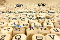 How to implement load more dynamic results functionality using jQuery, Ajax Php and Database?