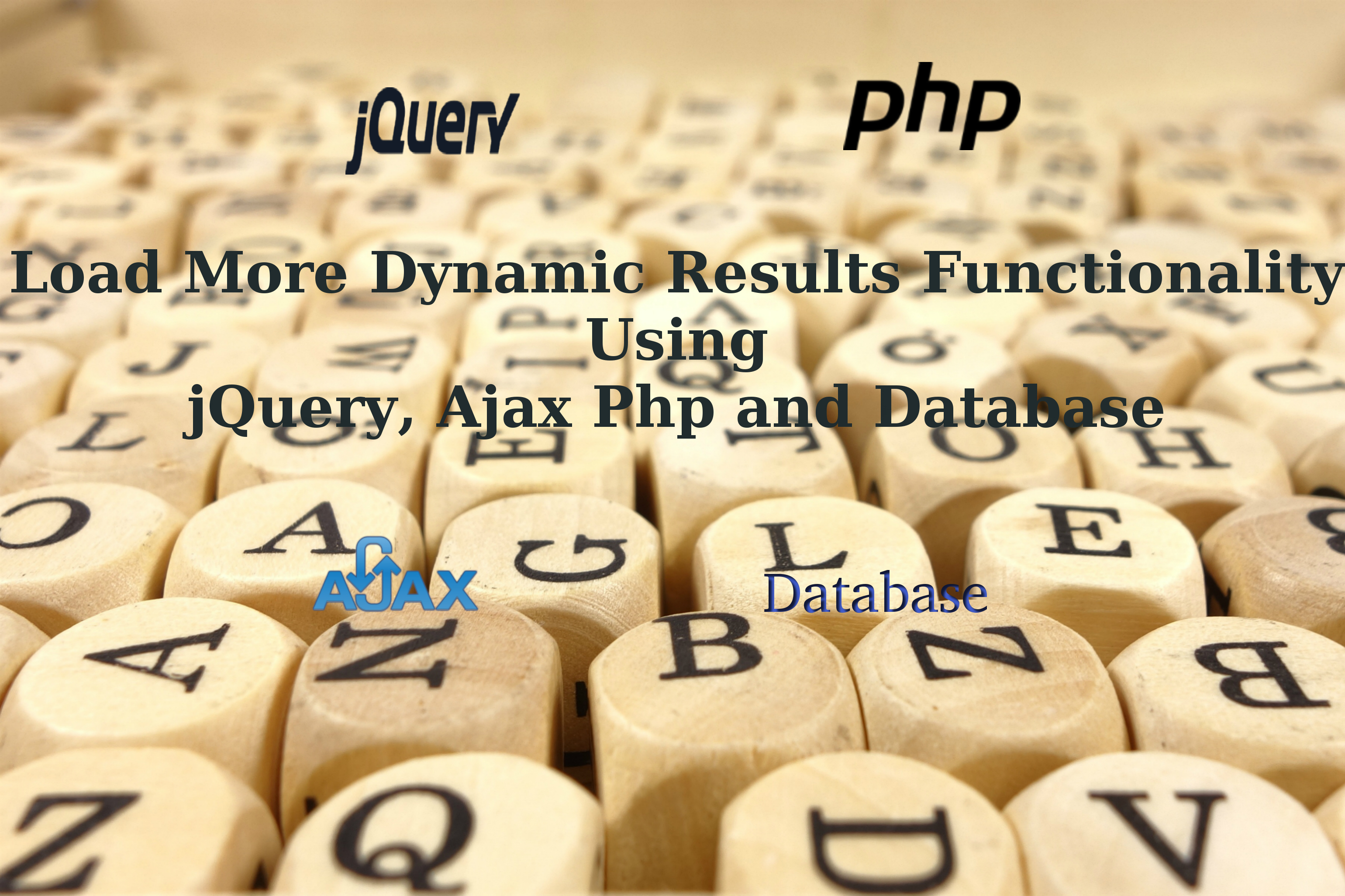 How to implement load more dynamic results functionality using how to implement load more dynamic results functionality using jquery ajax php and database baditri Choice Image
