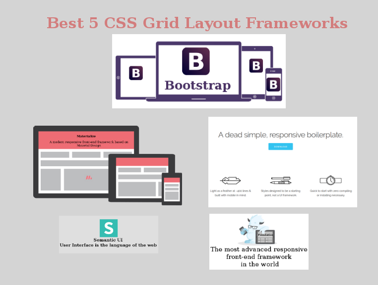 Best 5 css grid layout frameworks web designers should use for Html css grid
