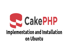 CakePHP 3.x Implementation and Installation on Ubuntu - Beginners Tutorials