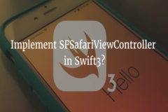 How to implement SFSafariViewController in swift3?