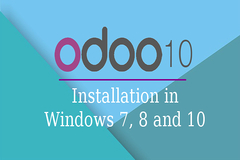 Install OpenERP-10 (Odoo-10) in Windows 7, 8 and 10 - 9 Easy Steps