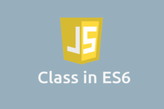 How to Define a JavaScript Class in ES6?