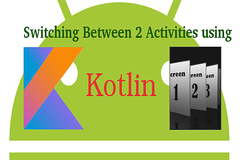 Switching between Activities along with data using Kotlin