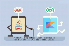 Kotlin Properties with Example and How it Differs from Java