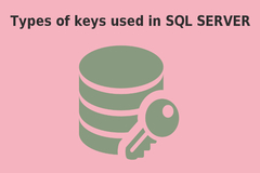 Different Types of SQL Keys