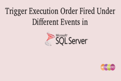 Trigger Execution Order Fired Under Different Events in SQL Server