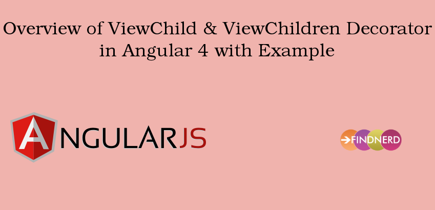 @viewchild angular 4
