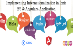 How to Implement Internationalization in Ionic 2/3 & Angular4 Application