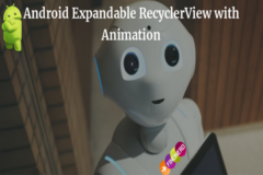 Expandable RecyclerView with Animation in Android