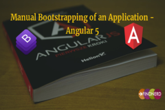 Manual Bootstrapping of an Application - Angular 5