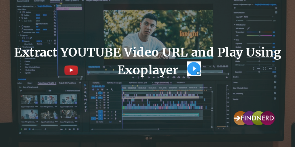 Extract YOUTUBE Video URL and Play Using Exoplayer