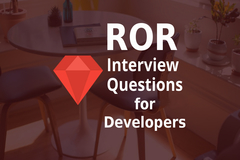 List of Top 10 Ruby on Rails Interview Questions for 2019