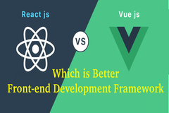 Vue vs ReactJS - Which is Better Front-end Development Framework