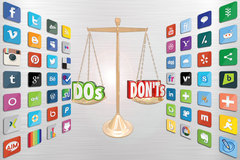 Dos and Dont of Social Media Marketing - SMM Tips for Marketers