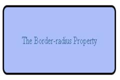 CSS Border-radius