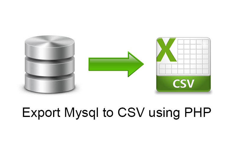 How to Export MySQL table data to CSV File using PHP