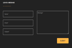Creating contact form using HTML/BOOTSTRAP and CSS