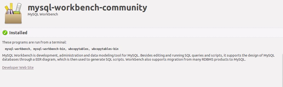 How to install MySQL workbench ubuntu 14 04?