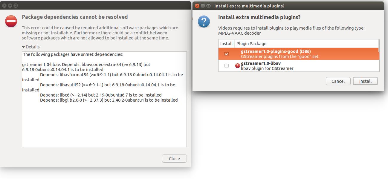 decodeur mpeg-1 layer 3 ubuntu