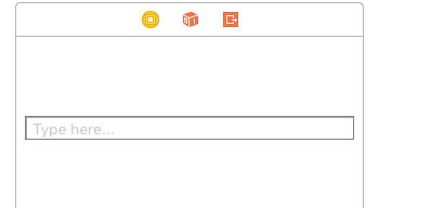 How to create your own search bar in Swift (Not using