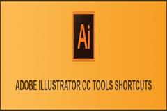 Adobe Illustrator CC : Tools shortcuts For Windows & Mac