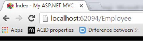 How to set favicon in Asp net mvc