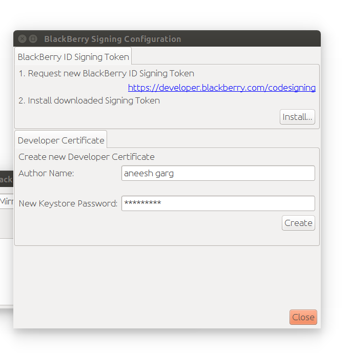 Repackaging android app for Blackberry devices and signing