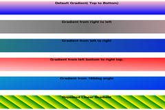 CSS Linear gradient property