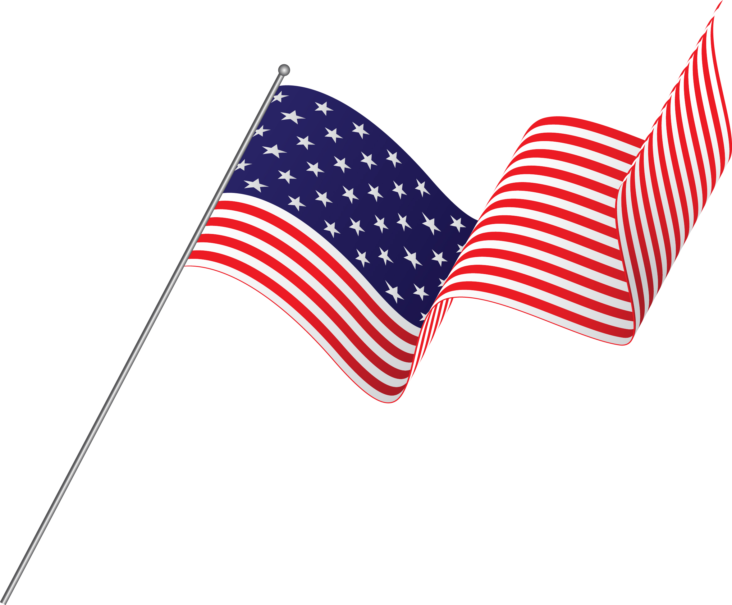 How to create a realistic american flag in illustrator