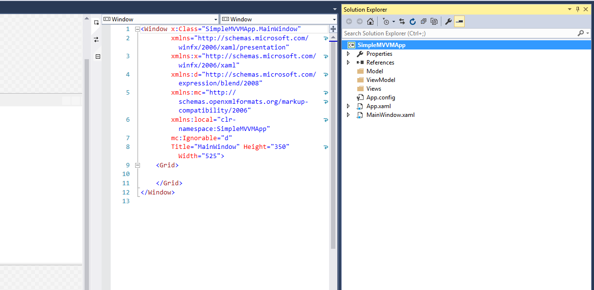 Simple MVVM Application In WPF