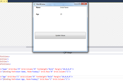 Notify Changes Using INotifyPropertyChanged Interface In WPF MVVM