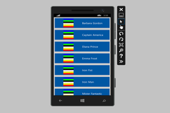 Showing Contact Details From Windows Phone 8.1 using C#