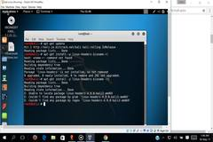 error installing VBox guest edition to enable full screen mode for kali linux