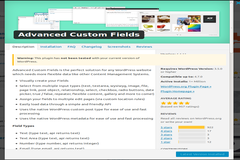 How to Display Advance Custom Fields in Wordpress - 2 Different Methods