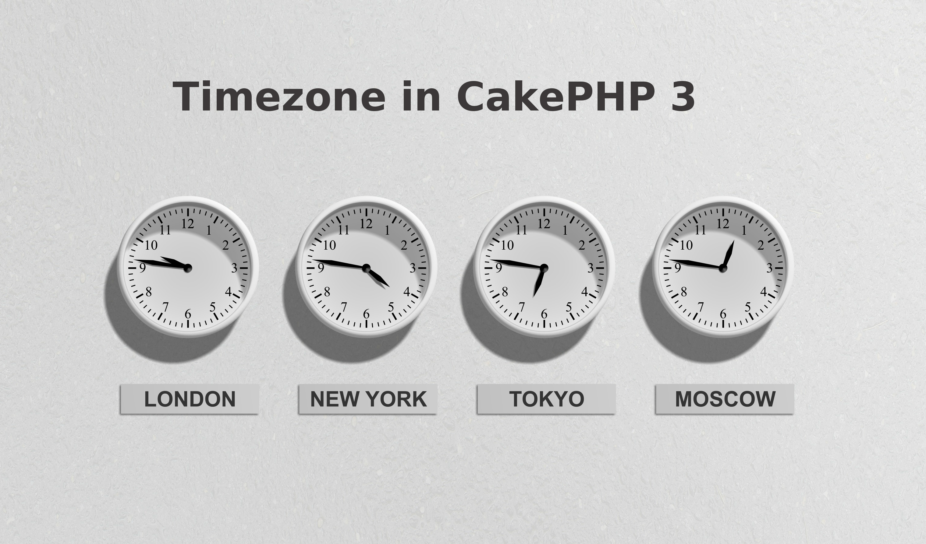 How to Set Timezone in CakePHP 3?