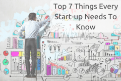 Top Seven Things Every Business Startup Needs to Know