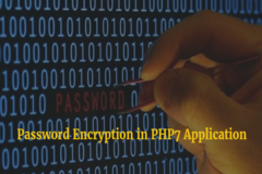 How to Securely Implement Password Encryption in PHP7 Application